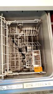 食洗機の庫内洗浄